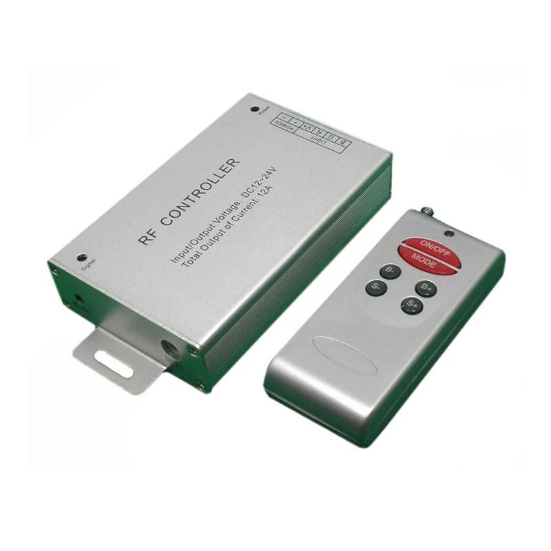 Controlador RF tira LED Blanco DUAL 3 modos + mando