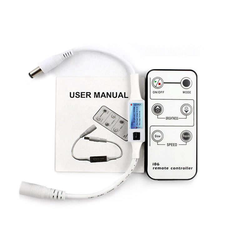 Controlador IR Mini tira LED monocolor + mando