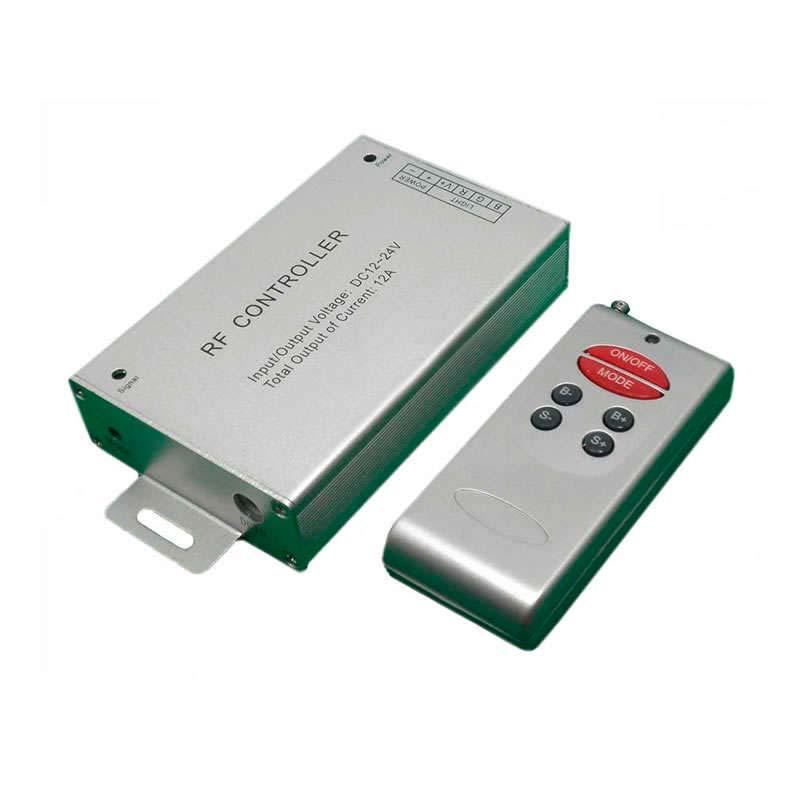 Controlador RF fita LED Branco DUAL 17 modos + comando