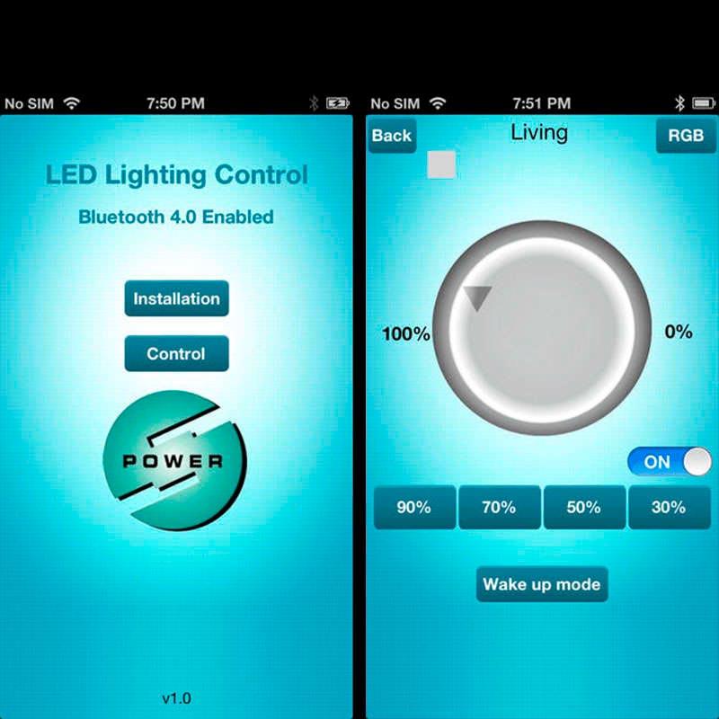 Bluetooth dimmer Led MAGIC LIGHT