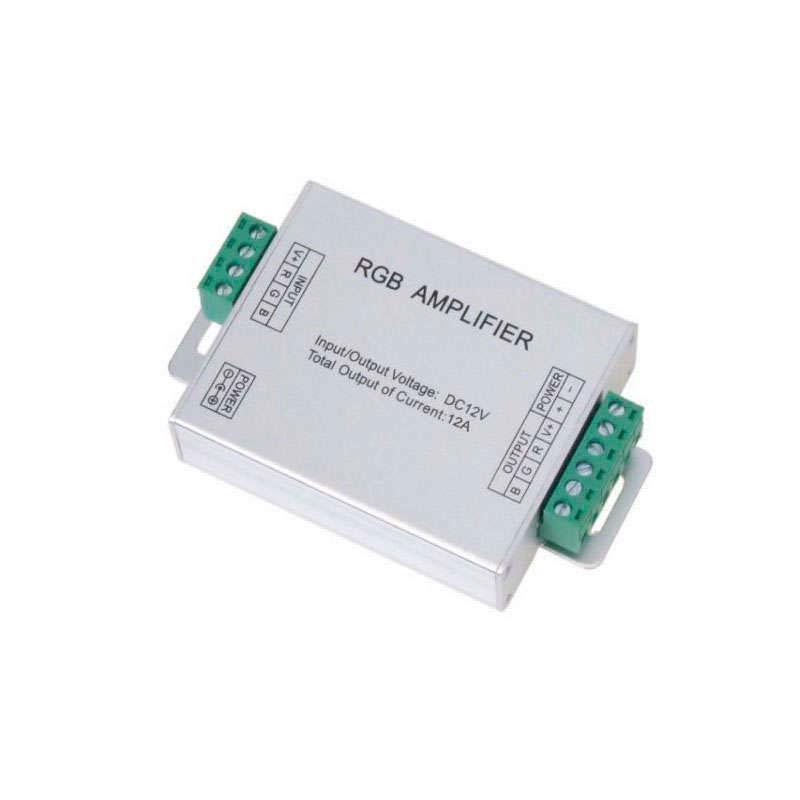 Amplificador para tira LED RGB