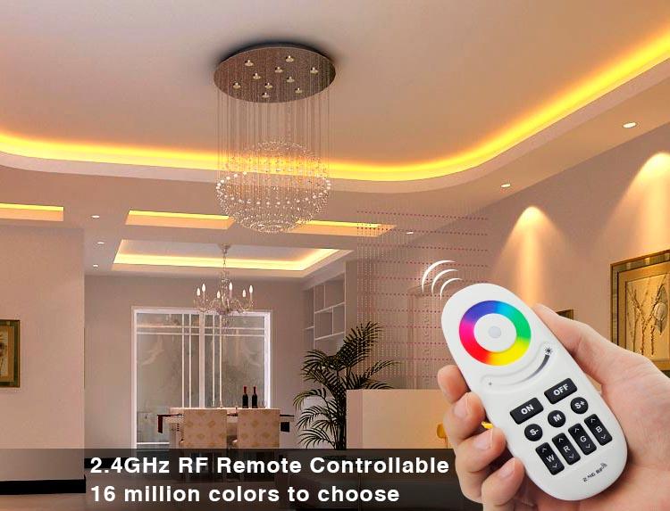 Controlador Sincronizado RGBW-RF + mando