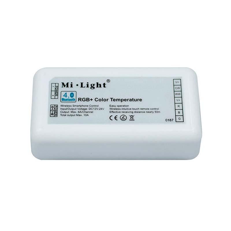 Controlador RGB+CCT - Bluetooth