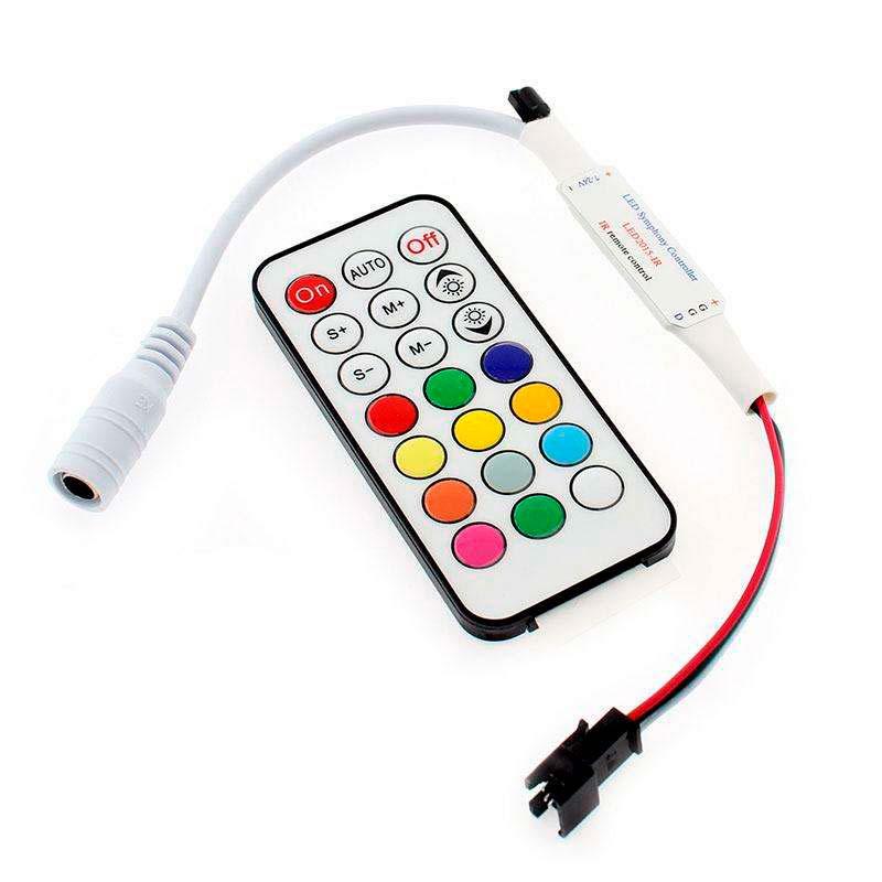 Controlador SP103 IV para fita LED IC Digital + comando