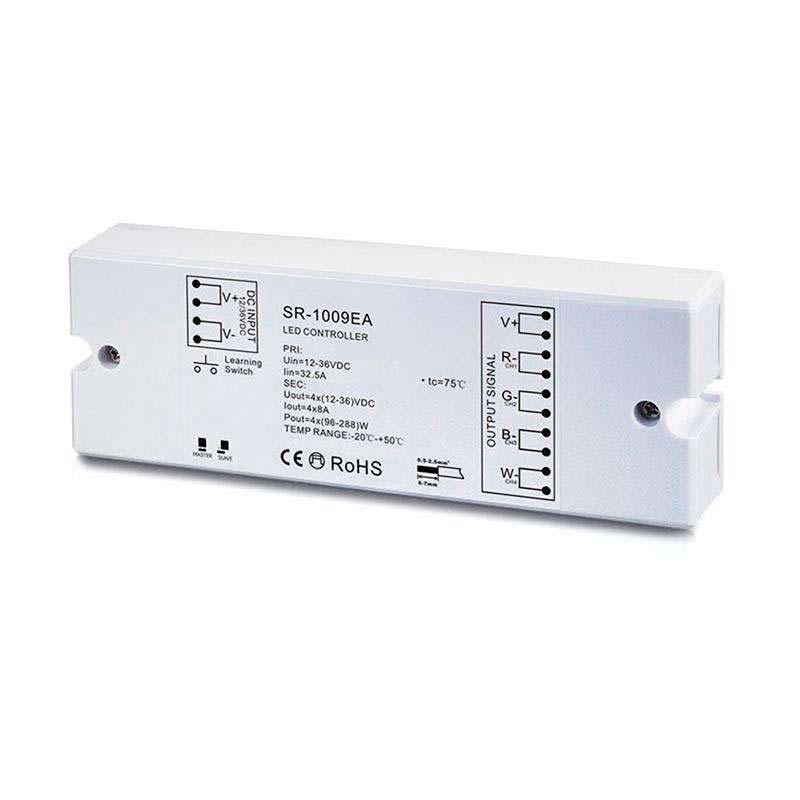 Controlador LB1009EA, MONO/CCT/RGB/RGBW, RF-WiFi