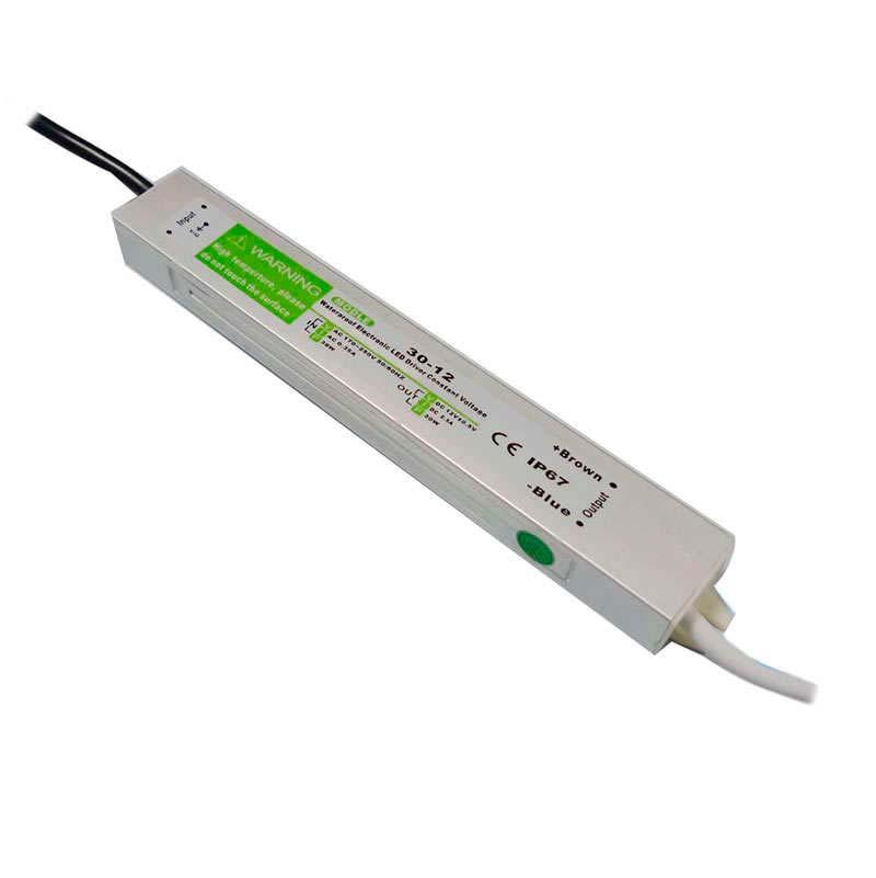 Fonte de alimentação IP67, DC12V/30W/2,5A