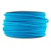 Cable textil redondo 2x0,75mm, 1m, azul