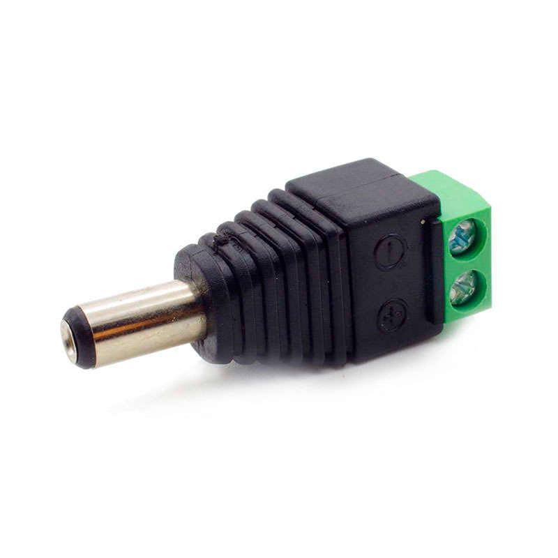 Borne de connexion mâle pour des bandes LED monochrome