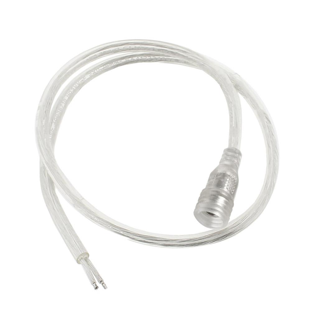 Cable de conexión DC Hembra 60cm transparente