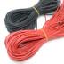 Cable anticalórico silicona 1x0,75mm, 1m, negro