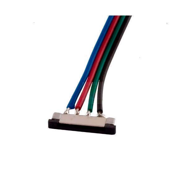 Direct connection cable for 10mm (4 pin) RGB LED strip