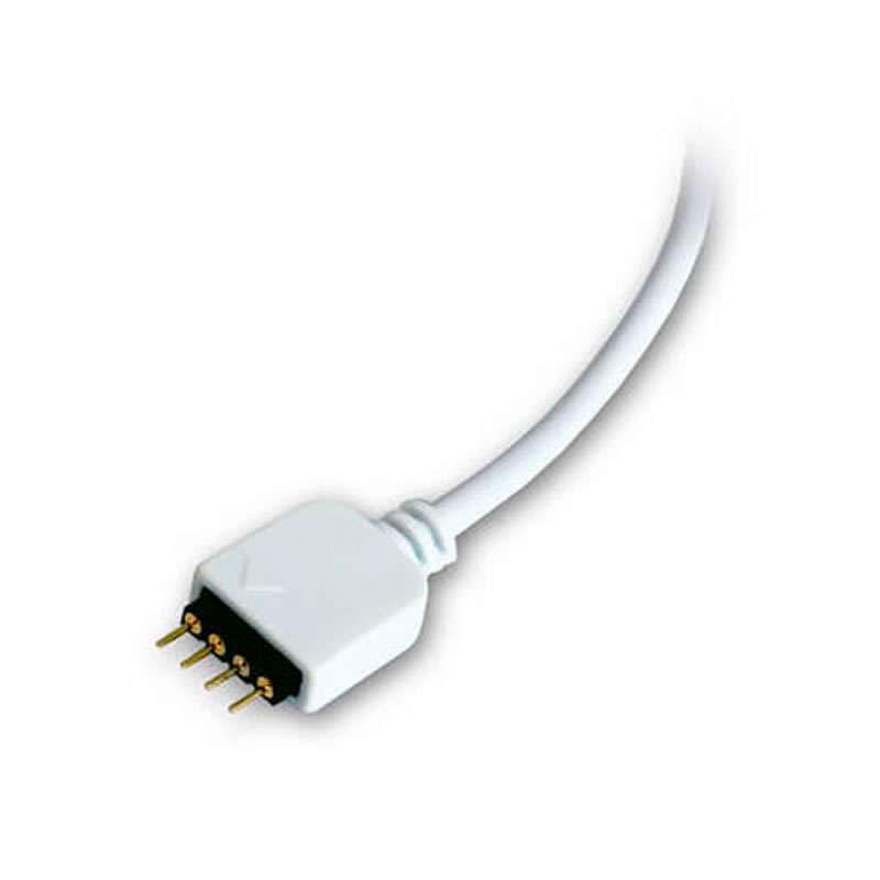 Cable de conexión para tiras LED RGB (4 Pin) 30cm