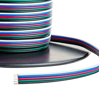Cable de conexión a medida para tiras LED RGBW 5x0,50mm, 1 metro