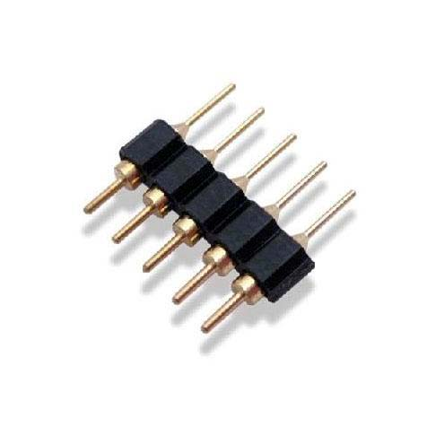 Conector Macho / Macho para tiras LED RGBW (5 Pin)