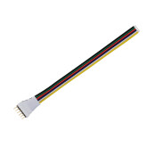 Cabo de conexão direta para fita LED RGB+CCT (6 Pin) 15cm