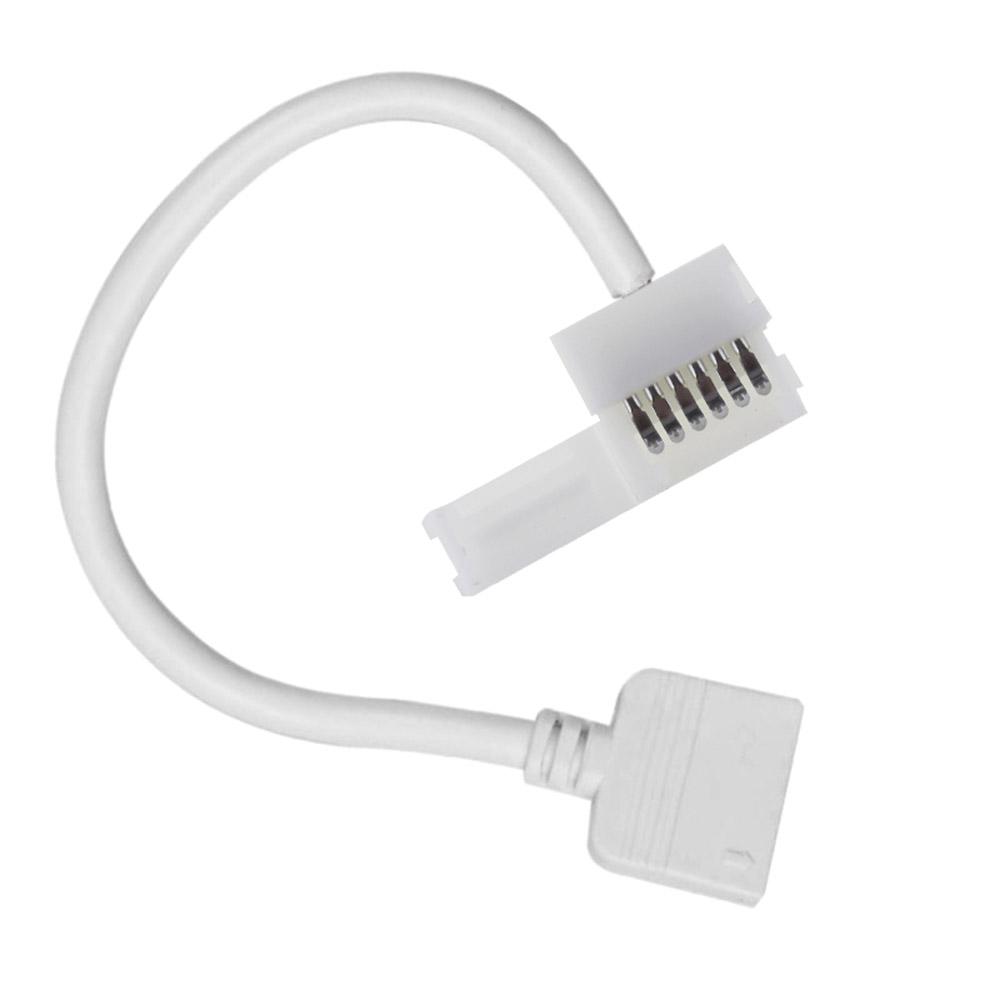 Cable redondo conexión 2 extremos 6 Pin RGB+CCT, 15cm