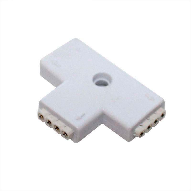 Unión / conector tipo T tira RGB