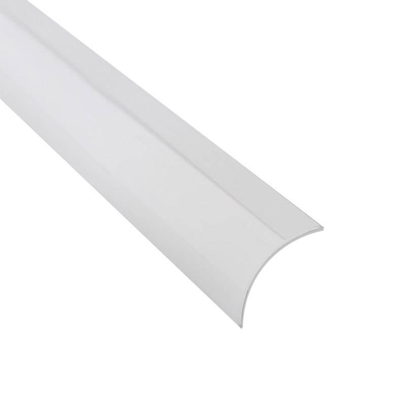 Cubierta translúcida para perfil KORK, 1 metro