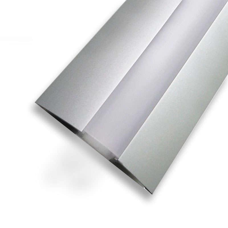 Perfil aluminio TREND para tiras LED, 2 metros