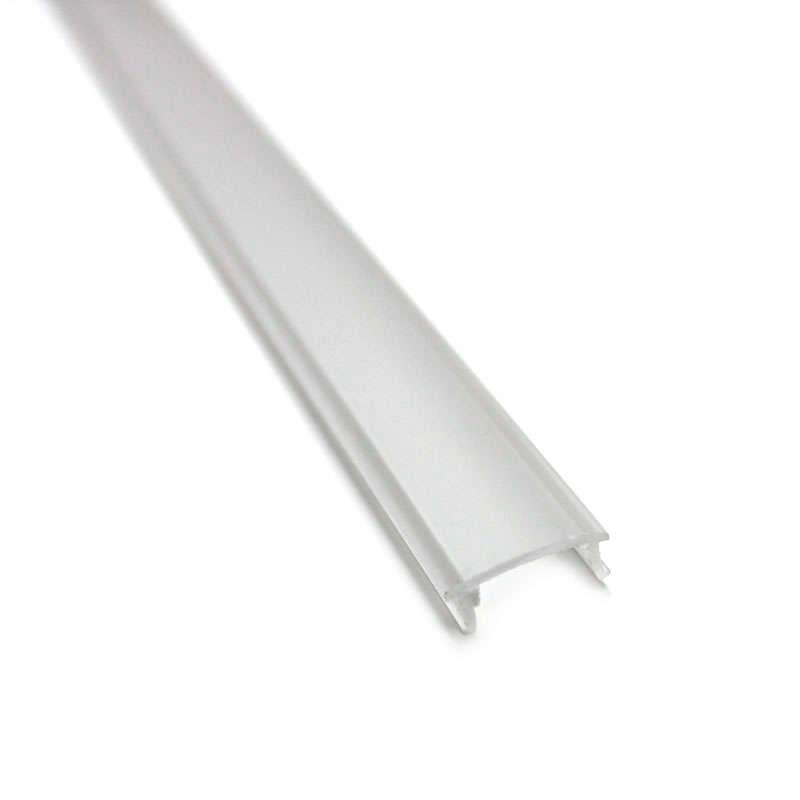 Cubierta translúcida para perfil TREND, 2 metros