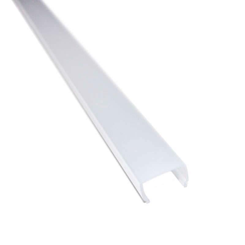 Cubierta translúcida para perfil ALKAL, 2 metros