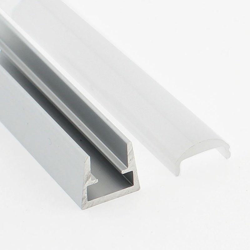 Perfil aluminio CLIP, 2 metros