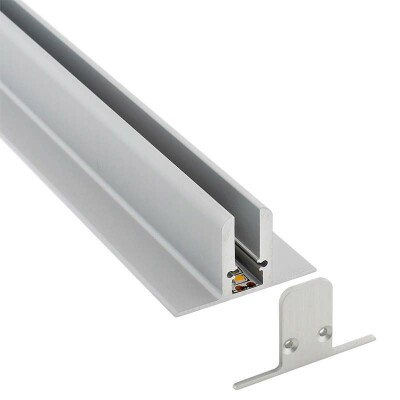 Perfil aluminio EXPO LUX, 2 metros