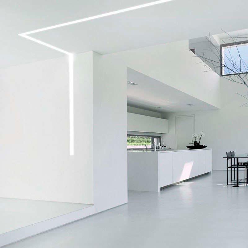 Perfil aluminio VART SUSPEND para tiras LED, 1 metro