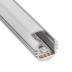 KIT - Perfil aluminio ROUND para tiras LED, 1 metro