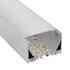 KIT - Perfil aluminio ZAK para tiras LED, 1 metro
