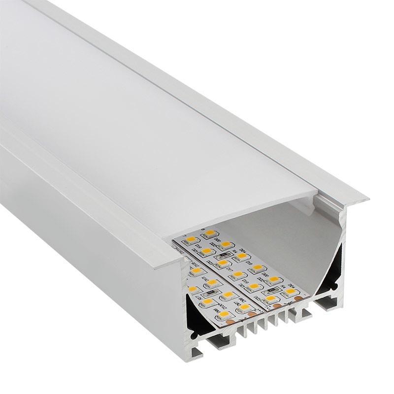 W panel de aluminio tiras