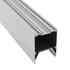 KIT - Perfil aluminio SERK para tiras LED, 1 metro