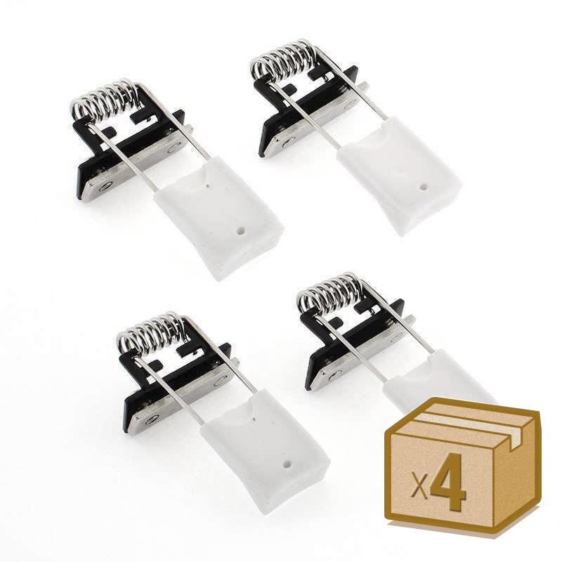 Pinzas montaje perfil OSIC set 4pcs