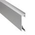 KIT - Perfil aluminio NITRA para tiras LED, 1 metro