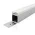 KIT - Perfil aluminio NORLUX para fitas LED, 1 metro