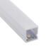 KIT - Perfil plástico CUB IP68 para tiras LED, 1 metro