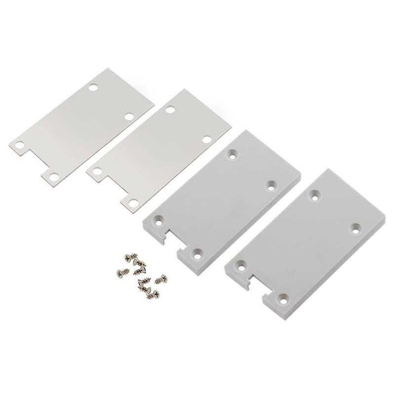 Tapa perfil plástico+aluminio PROLUX