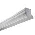KIT - Perfil aluminio GREC 120º para fitas LED, 1 metro