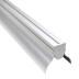 KIT - Perfil aluminio GREC 80º para tiras LED, 1 metro