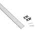 KIT - Perfil aluminio flexible FLEX para tiras LED, 2 metros