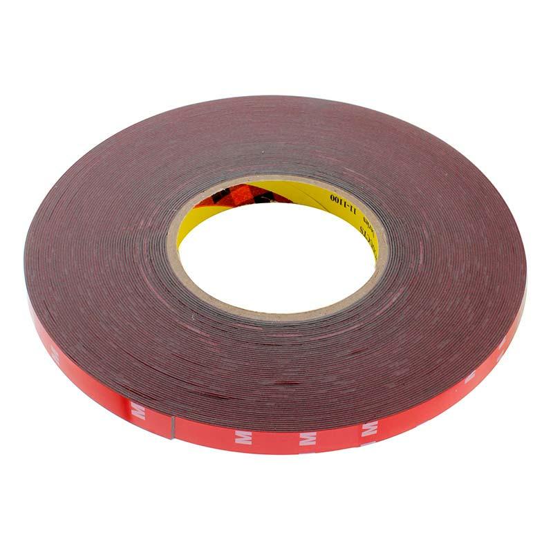 Adhesivo 3M para tiras waterproof, 12mm, rollo 33m