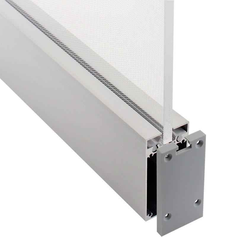 KIT - Perfil aluminio PROLUX para fitas LED, 120 cm