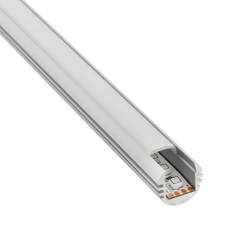 Perfil Round para tiras LED, 1 metro