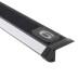KIT - Perfil aluminio silver CINEMA para tiras LED, 1 metro