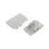 KIT - Perfil aluminio KEN para tiras LED, 1 metro