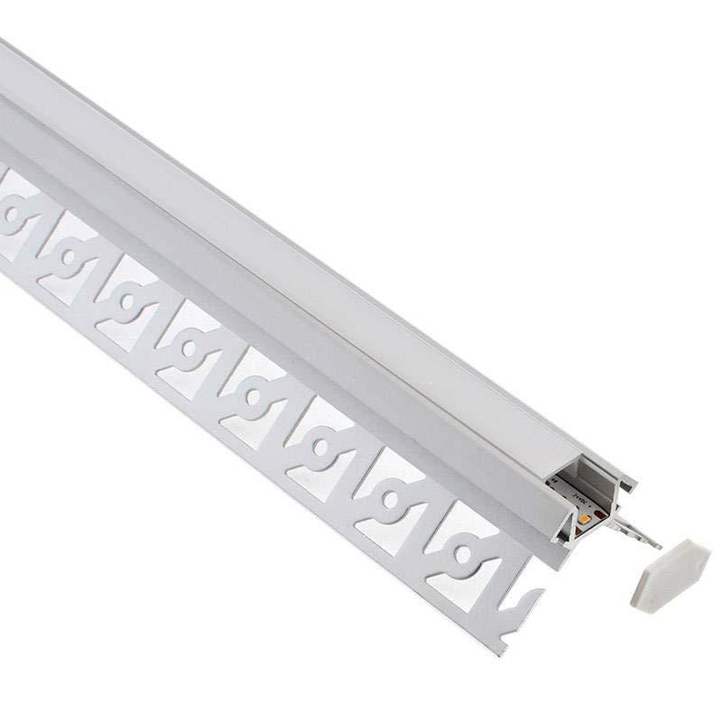 KIT Perfil arquitectónico aluminio SINE 3 m