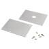 Tapas para perfil SERK, aluminio anodizado