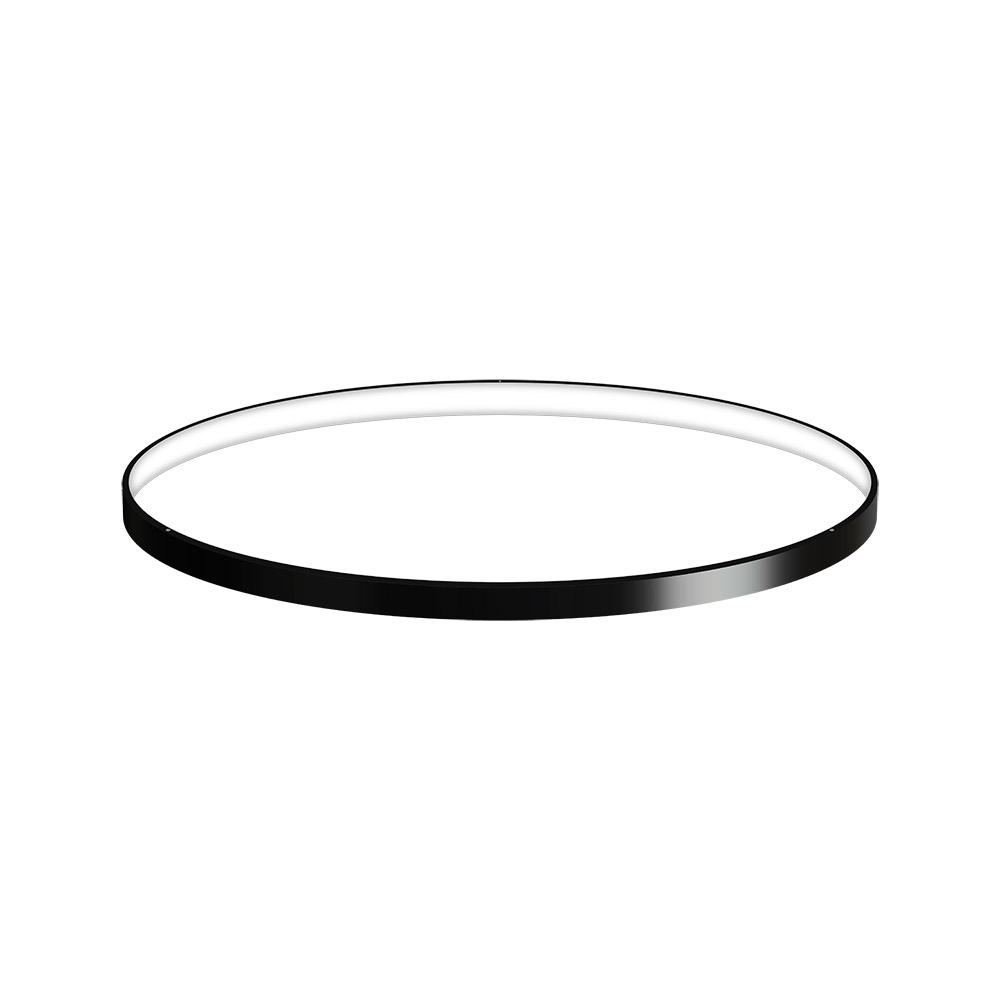 KIT - Perfil aluminio circular CYCLE IN, Ø700mm, negro