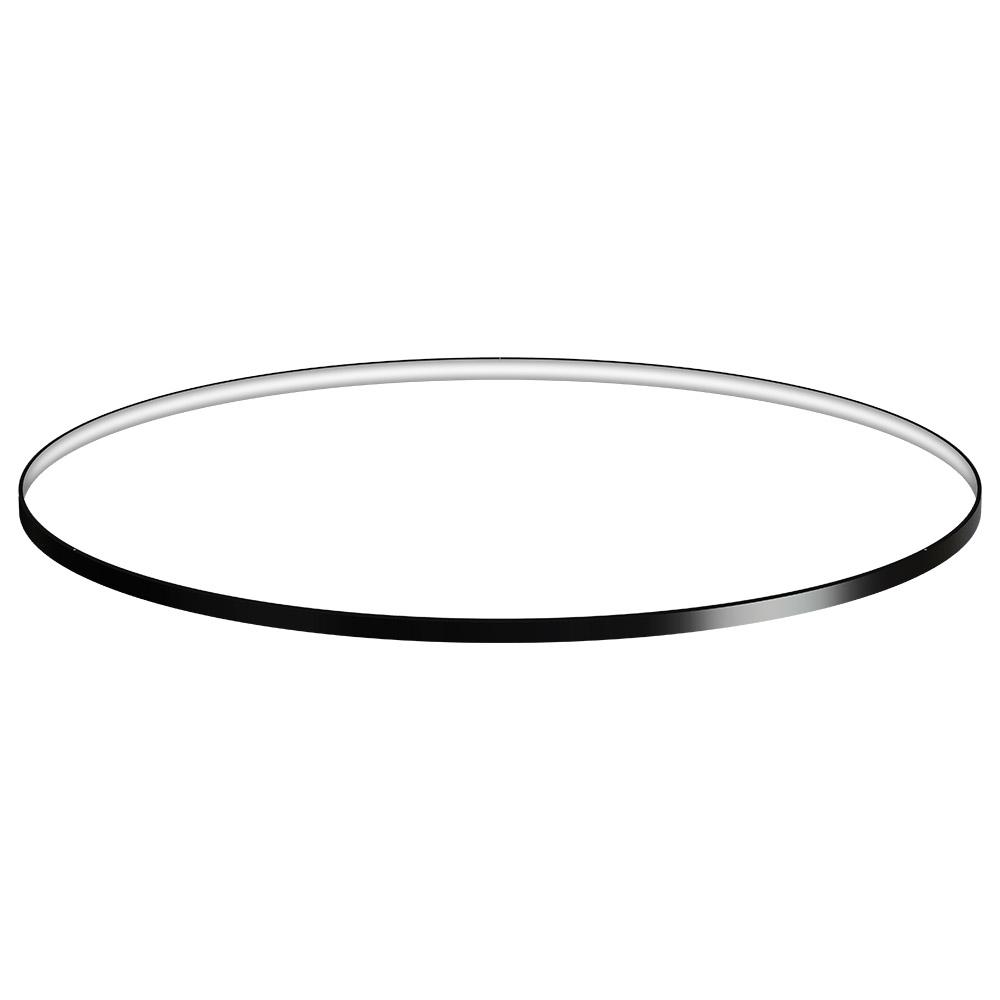 KIT - Perfil aluminio circular CYCLE IN, Ø1400mm, negro