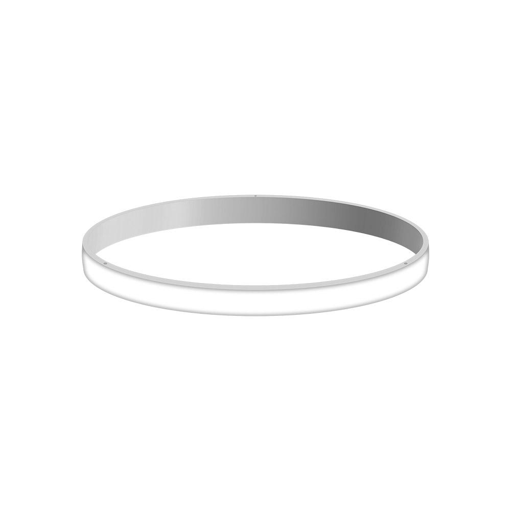 KIT - Perfil aluminio circular CYCLE OUT, Ø400mm, blanco